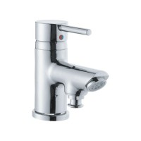 Single Lever 1-Hole Bath & Shower Mixer  (High Flow) Tub Mounted (FLR-CHR-5105B)