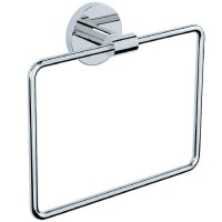 Towel Ring Square with Round Flange ACN-CHR-1121N