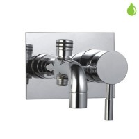 Single Lever High Flow Bath & Shower Mixer (SOL-CHR-6137)