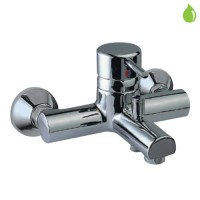 Single Lever Bath & Shower Mixer (High Flow)  (Wall Mounted Model) (FLR-CHR-5123)