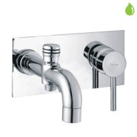 Single Lever High Flow Bath & Shower Mixer (Concealed Body) Wall (FLR-CHR-5137)