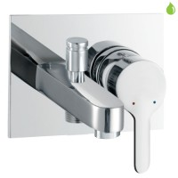 Single Lever High Flow Bath & Shower Mixer (FUS-CHR-29137)