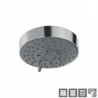 Верхний душ диаметр 100mm, 3 режима Normal, Soft и Massage Spray (OHS-CHR-1999)