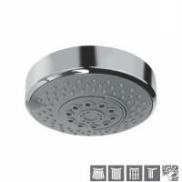 Верхний душ диаметр 120mm, 4 режима Normal, Soft, Massage и Cascade Spray (OHS-CHR-1779)