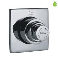 Metropole двойной смывной вентиль для унитаза (FLV-CHR-1089SQ)