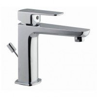 Single Lever Basin Mixer with Popup Waste (KUP-CHR-35051BPM)