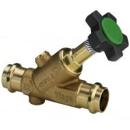 Easytop (краны и вентиля) Системный запорный вентиль из бронзы или высококачественной нержавеющей стали