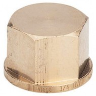 Заглушки бронзовые Резьбовые фитинги и удлинители для кранов из красной бронзы с резьбой по DIN 2999-1 Виега Viega