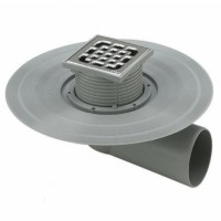 Viega - Трапы для балконов и террас, системные компоненты с защитой от обратного подпора