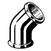 Отвод 45° Модель 3120