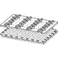 Распределительная панель Fonterra Base 15/17 Модель 1227.1