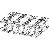 Распределительная панель Fonterra Base 15/17 Модель 1229.1