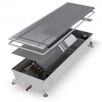 Встраиваемый в пол конвектор с вентилятором HCM