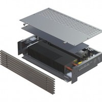 Встраиваемый в пол конвектор с вентилятором SK