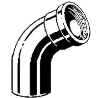 Отвод 45° Profipress XL Модель 2426.1XL