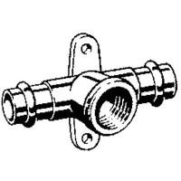 Тройник-водорозетка Sanpress Модель 2217.3